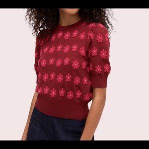 Kate Spade Floral Sweater - XXL